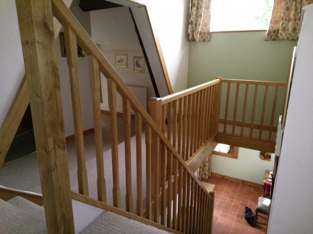 staircase renovation 2